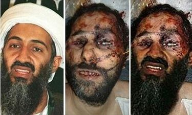 Bin Laden Fake Death Photo Montage (Upper Section Source)